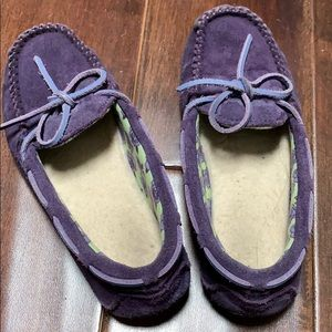 Purple Dakota ugg slip on shoes/slippers